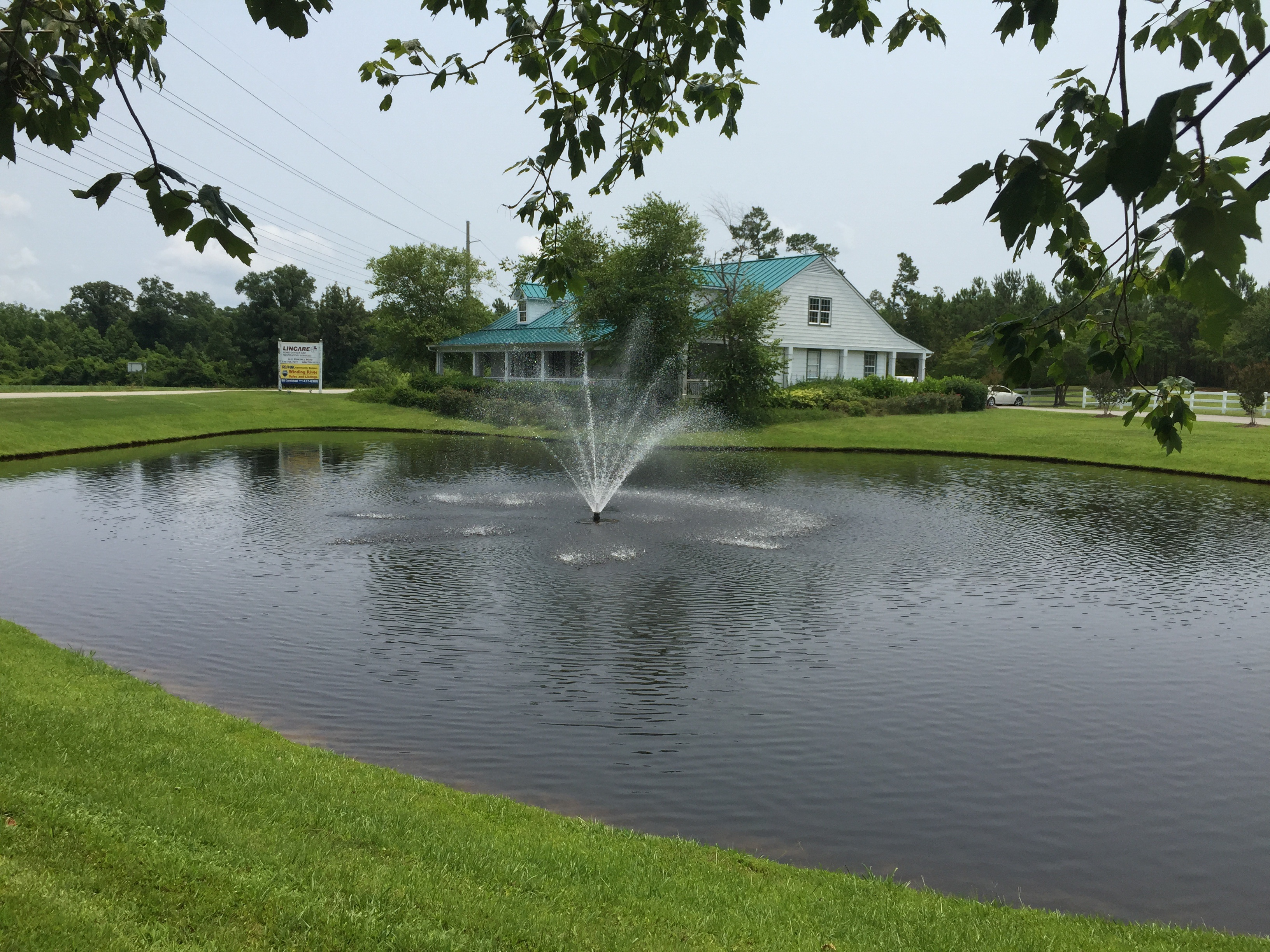 Water Features Ponds Green Lawn Specialists